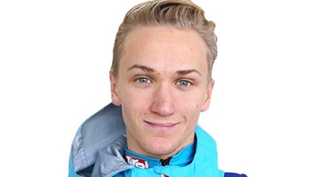 Austrian ski jumper Stefan Huber won the morning competition on Sunday and took 3rd place in the afternoon event.