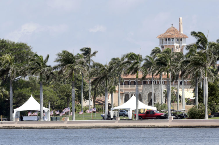 PRESIDENT DONALD TRUMP'S Mar-a-Lago resort in Palm Beach, Fla. This weekend, Trump is making his seventh visit to Mar-a-Lago since becoming president. (AP Photo/Lynne Sladky, File)