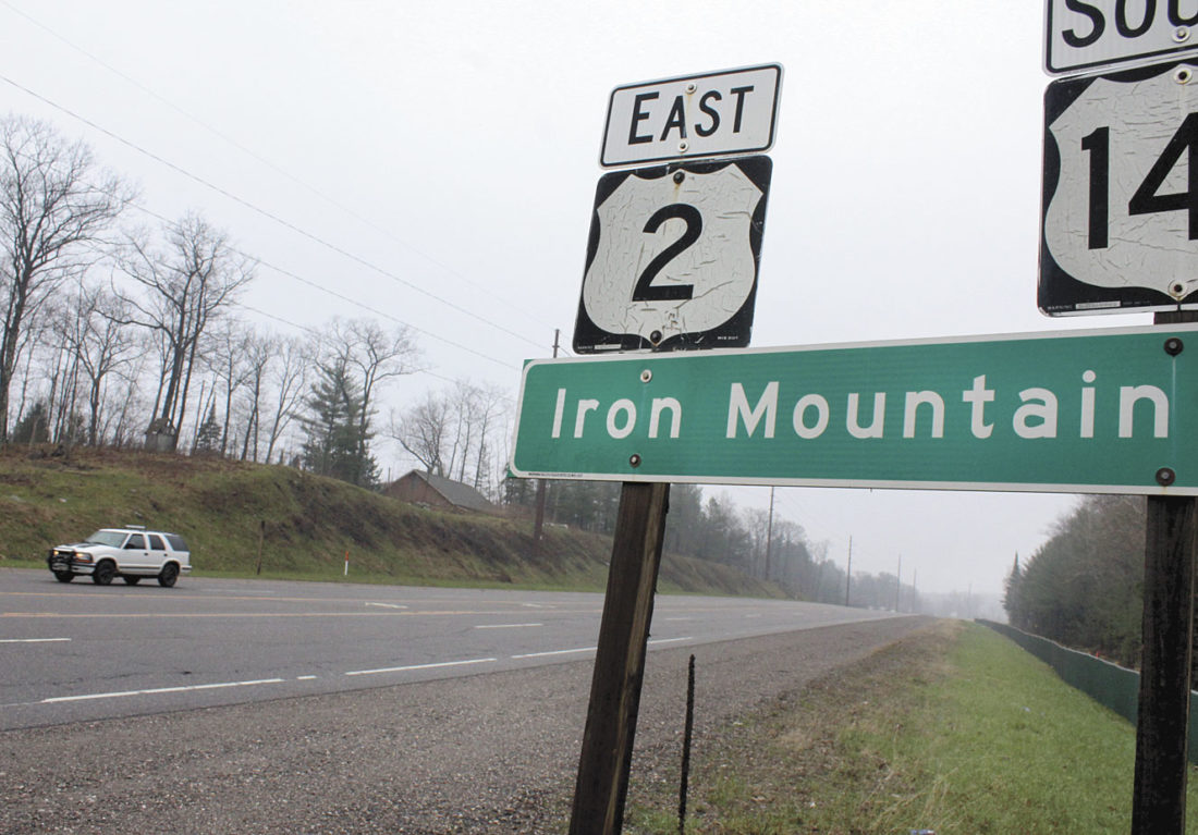 THE MICHIGAN DEPARTMENT of Transportation has green-lighted raising the speed limit to 65 mph on U.S. 2 west of Iron River but not in Dickinson or Menominee counties. (Theresa Proudfit/Daily News photo)