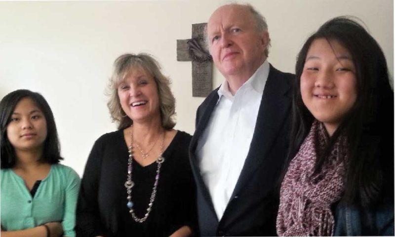 The Ditmer family — Naomi, Judi, Darryl and Avi-Joy.