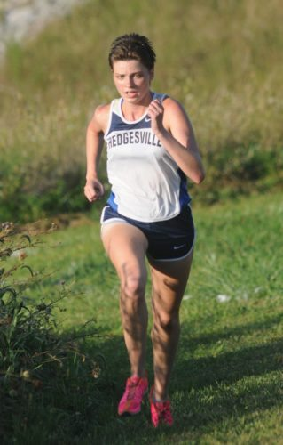 Hedgesville's Jessie Hogbin looks to add a region title to her list of accomplishments this season.