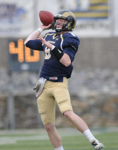 Shepherd quarterback Connor Jessop threw for 480 yards and five touchdowns in the Rams' win over West Virginia State.