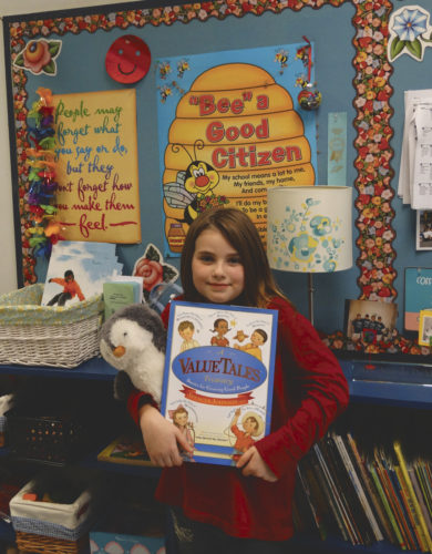 Submitted photo Students at Hedgesville Elementary School are involved in numerous programs facilitated by the school counseling department.