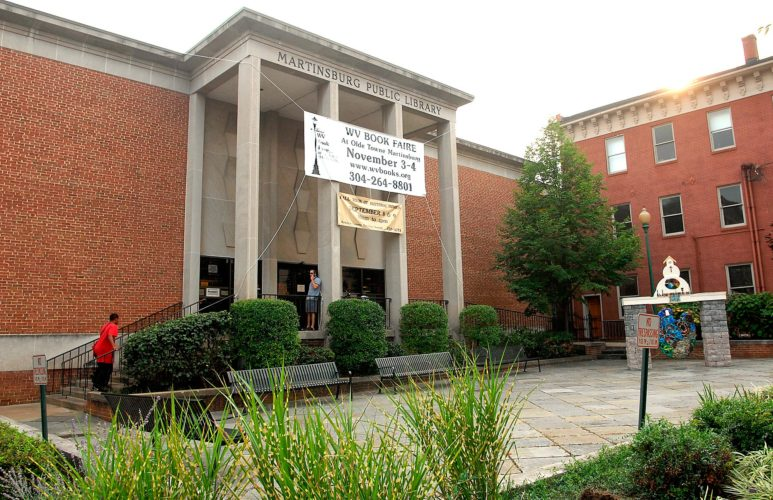 (Journal photo by Ron Agnir) The Martinsburg-Berkeley County Public Library is shown recently in downtown Martinsburg.