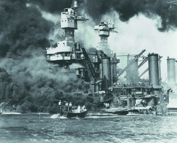 (Submitted photo) On Dec. 7, 1941, the Japanese attacked Pearl Harbor. The USS West Virginia suffered massive damage from torpedoes and bombs. Two officers, including the captain, and 103 crew members died.