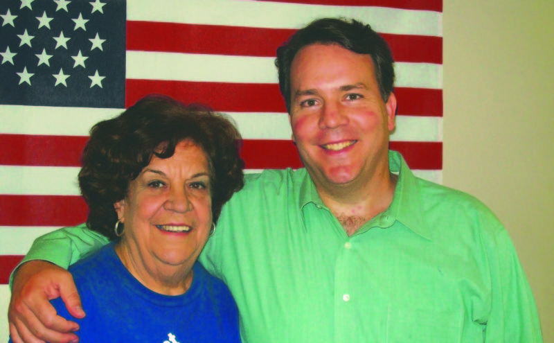 (Submitted photos) Rep. Alex Mooney, R-W.Va., and this mother, Lala, are shown in a family photo. Lala, a Cuban native, escaped Castro's communist regime when she was 21 years old.