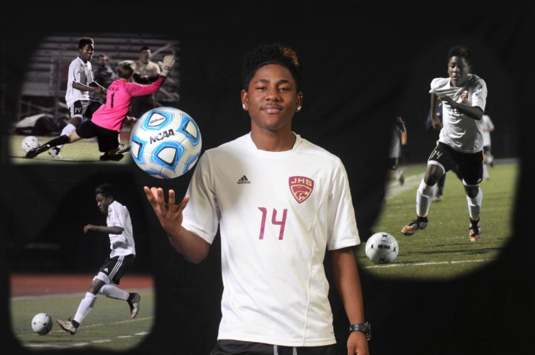 Teo Garces completed his trifecta of accolades by being named The Journal's Male Soccer Player of the Year. Garces was also named West Virginia Soccer Coaches Association Player of the Year in addition to earning all-state honors.