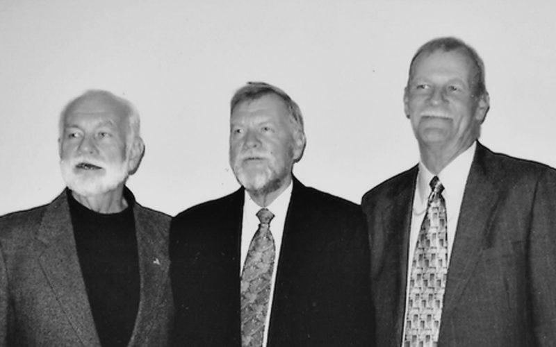 From left, are David Hetzel, Glen Hetzel and Don Hetzel. (Submitted photo)