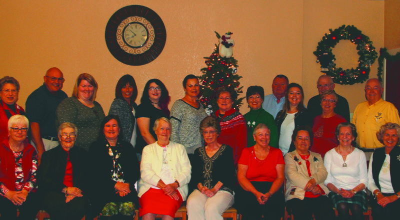 Submitted photo The Arden-Tabler CEOS Club members and guests who attended the luncheon. Pictured, from left, seated are Kathleen Merceruio, Norma McDonald, Arden Tryon, Gladys Cogle, Judy Butler, PennyKay Hoeflinger, Betty Catrow, BetteAnne Shephard, and Barby Frankenberry. Pictured, from left, standing, are Susanne Horner, Jerry Horner Samantha Martz, Wendy Martz, Hailey Martz, Kim Cogle, Alice Cogle, Gail Riggleman, Bill Riggleman, Melissa Moran, Jackie Cogle, Donald Catrow and Bob Frankenberry.