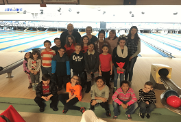 (Submitted photo) The Tuscarora Indians 4-H Club pose at Pikeside Bowl.