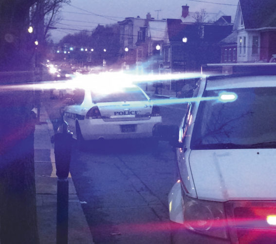 """(Journal photo by Matt Dellinger) A section of King Street was briefly shutdown around 5 p.m. Friday evening after a reported stabbing. """"Yes, we had one man stabbed,"""" said Lt. Witt with the Martinsburg Police Department. The incident is currently under investigation."""