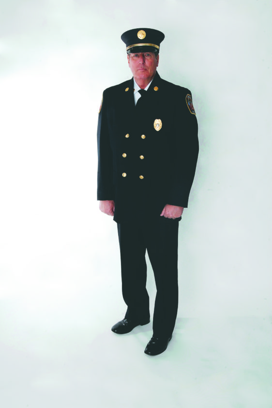 Journal photo by Jeff McCoy Captain Eddie Gochenour has served local residents for more than 40 years and now serves as the Office of Homeland Security and Emergency Management director for Berkeley County and as captain of Berkeley Fire.