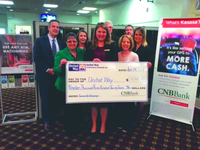 CNB donation