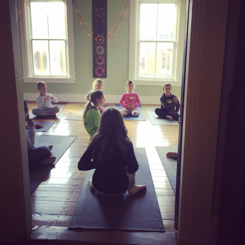 Journal photo by Jennifer R. Young Pictured is the Jala studio, where the Girl Scouts Yoga Workshop will be held in Shepherdstown.