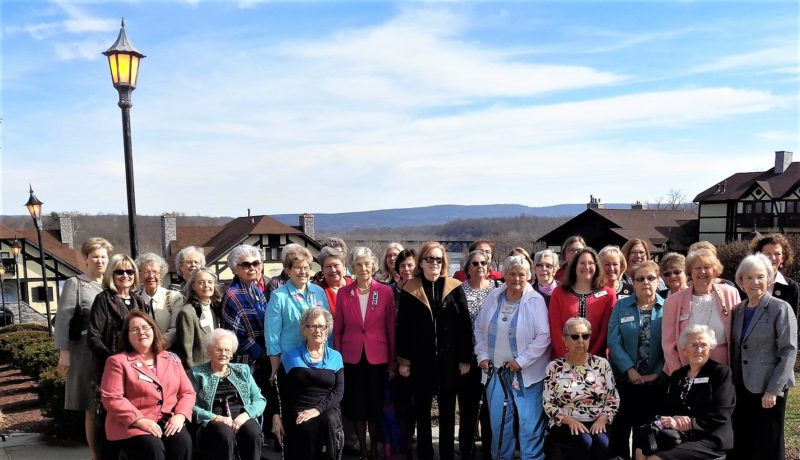Pack Horse Ford Chapter, NSDAR, celebrated its 101st birthday at the Bavararian Inn in Shepherdstown on February 18. (Submitted photo)