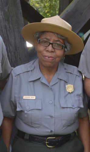 Guinevere Roper, a ranger from Harpers Ferry Park, who will speak at the Soul Food Tasting event. (Submitted photo)