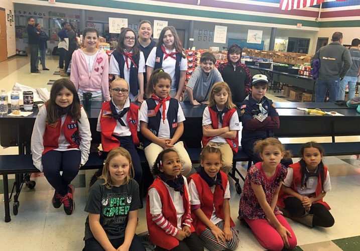 Shown are members of American Heritage Group Troop WV0058, which consists of local girls of all ages. (Submitted photo)