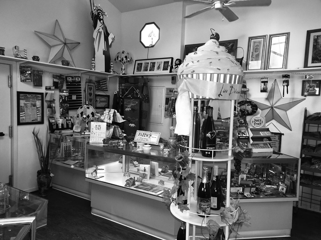 Journal photo by Andranisha Stephens Pictured is the interior of the Bakerton Market.