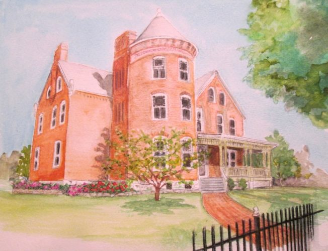 The Gibson-Todd House, shown here, will be on display April 29 and 30. (Submitted image)