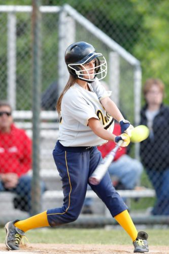 Berkeley Springs' Shyann Farris earned three wins on the mound and pounded out seven hits at the plate last week. (Journal file photo)