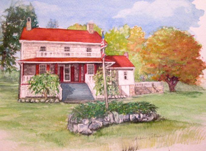 The John Evans House, shown here, will be on display April 29 and 30. (Submitted image)