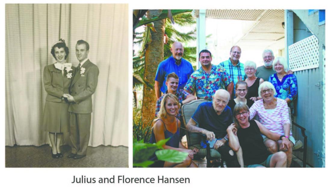Julius and Florence Hansen