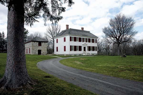 Johnson Hall in Johnstown. (The Leader-Herald/Bill Trojan)