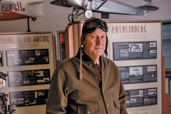 Tim Clark will present a first-person account of Charles Lindbergh's life on Jan. 28 in Saratoga Springs. (Photo submitted)