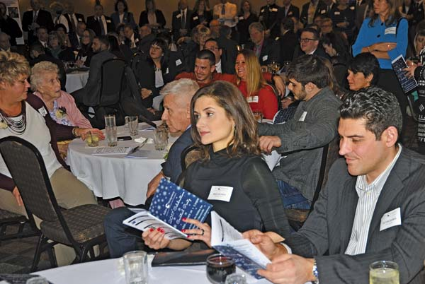An overview of attendees during the 2017 Celebration and Cocktail Party at the Johnstown Holiday Inn on Friday. (The Leader-Herald/Bill Trojan)