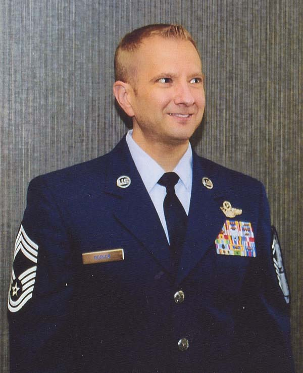 Senior Master Sgt. Joseph M. Rorick was was promoted to chief master sergeant. (Photo submitted)