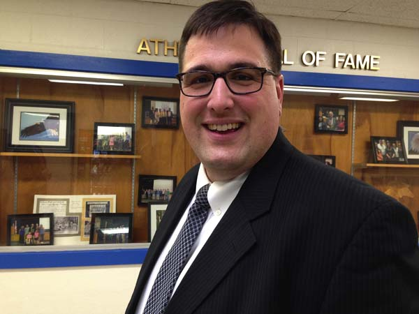 Michael Miller, a social studies teacher at Saratoga Springs High School, will be named the Galway Junior/Senior High School principal at the board of education's meeting on Thursday. (Photo submitted)