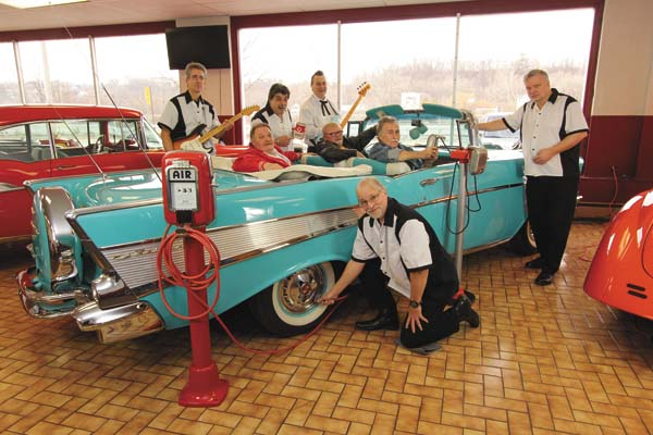 Members of The Oldies Show. The nostalgic trip back in musical time will be offered Saturday in Long Lake. (Photo submitted)