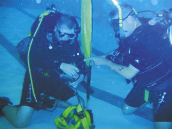 The Saratoga County Sheriff's Office Underwater Search and Recovery Team (Dive Team) is a public safety dive team. Currently the dive team is comprised of twelve divers who possess at a minimum, Master Diver Certification. In addition to certification received in a variety topics, team members practice on a monthly basis to enhance their skills. (Source: Saratoga County Sheriff's Office website)