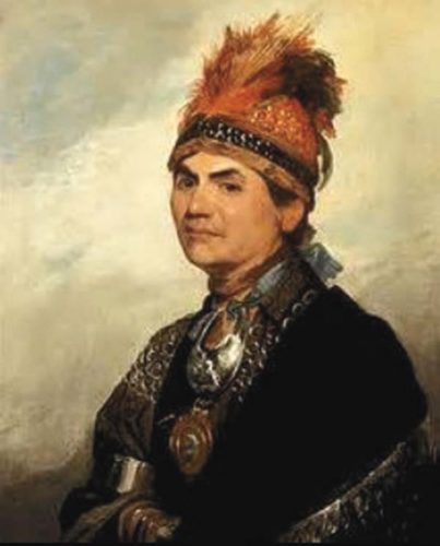 Joseph Brant. (Photo submitted)