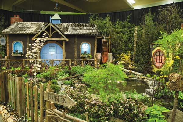 The People's Choice Award from last year's Capital District Garden &Flower Show is shown.  (Photo submitted)