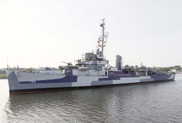 The USS Slater is scheduled to open for the season on Wednesday.  (Photo submitted)