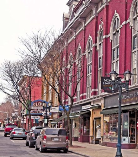 Gloversville is trying to win $10 million in funding aimed at revitalizing downtowns. Downtown Development Specialist Jennifer Jennings said a committee, established in March, has been working on the application.  (The Leader-Herald/Bill Trojan)