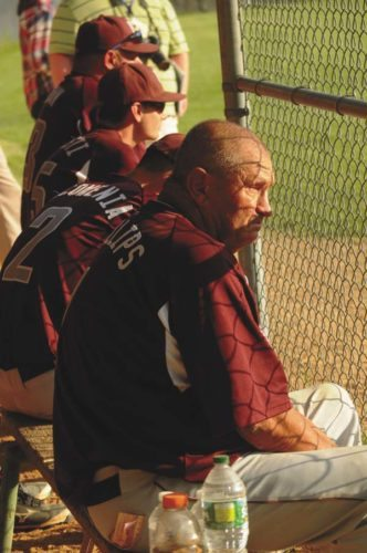 Fort Plain baseball coach Craig Phillips recorded his 750th career victory Wednesday. The Hilltoppers defeated Mekeel Christian Academy, 14-3. (The Leader-Herald/James A. Ellis)