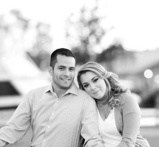 Jessica Fluke and John Silva