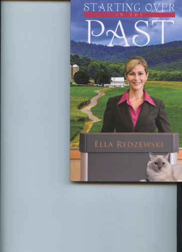 'Starting Over in the Past,' by Ella Rydzewski, is a new paperback of the religious fiction genre, set in Juniata County.
