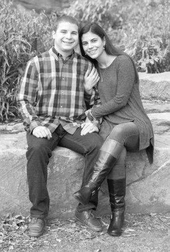Amanda Rex and Trevor Fry
