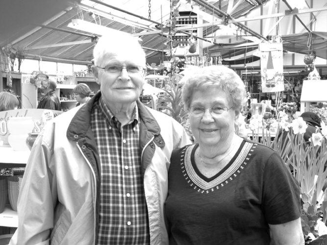 Mr. and Mrs. Larry Shambach