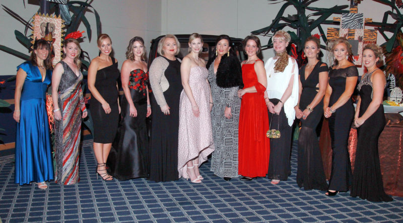 Photo submitted by ANISSA ILIE  Members of the 2017 Charity Ball Committee are, from left, Kathleen Majewski,  Kathleen Hulburt, Amy Gravine, Genevieve Hulburt, Pat Roenigk, Tracie Doucette, Jennifer Driscoll, Jean Moore, Monica Wright, Gina Woskob, co-chair; Melissa  Hawbaker, chair; and Rebecca Caylor.