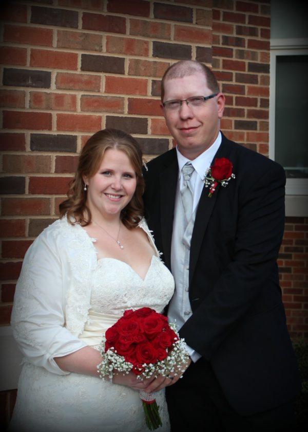 Mr. and Mrs. John A. Pepperman (Rachel Ann Butler)
