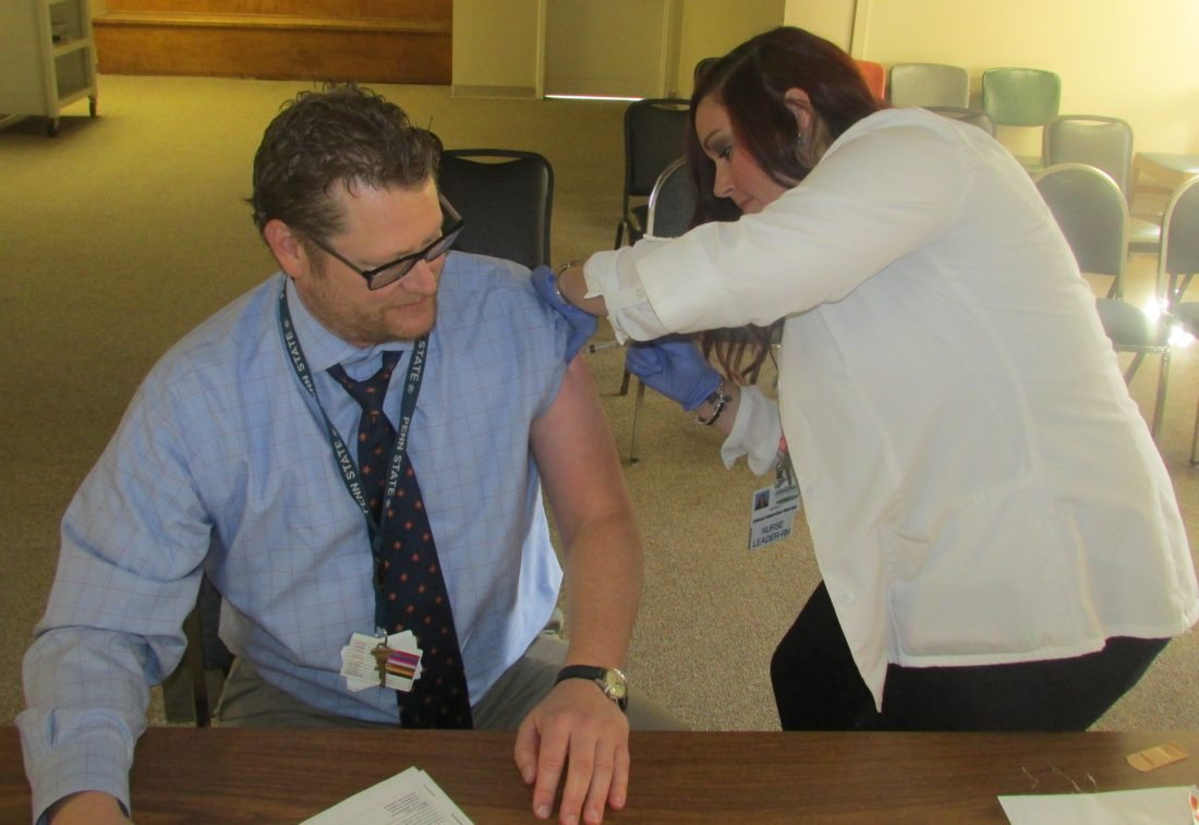 Only a few dates left for student flu vaccine clinics