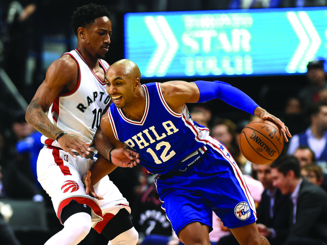 Lowry hits all six 3s as Raptors beat Sixers again, 122-95