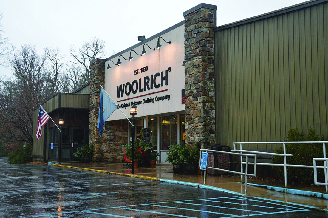 PHOTO PROVIDED This recent photo shows the Woolrich Original Company Store in Woolrich.