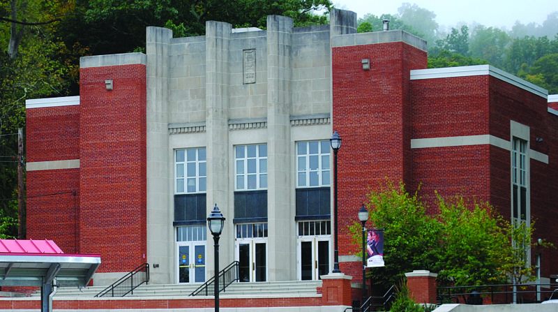 WENDY STIVER/THE EXPRESS LHU's Price Auditorium, built in 1938, is set for a $2.5-3 million renovation next summer. The acoustics will be improved, seats reupholstered, new house lighting installed and more.