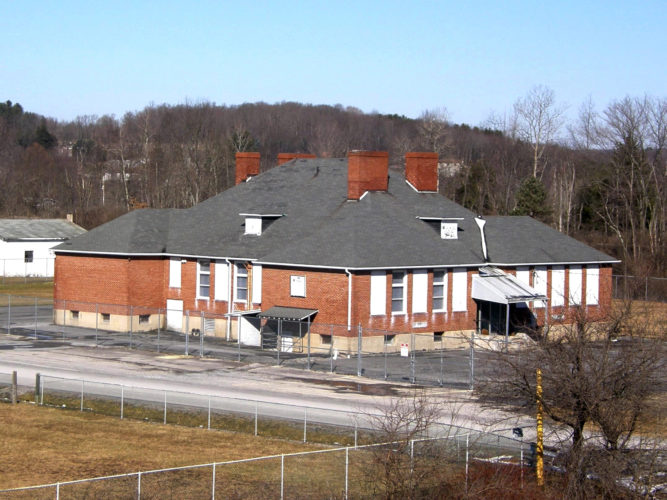 PHOTO PROVIDED The former Clarence Elementary School is being transformed into the Mountain Top Activity Center.