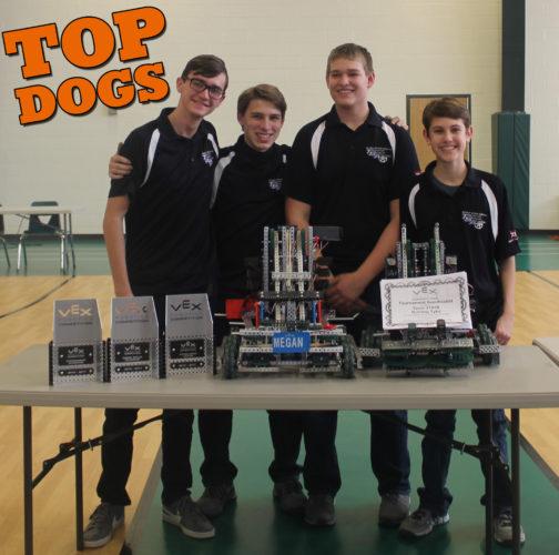 JSHS VEX Robotics Teams score success